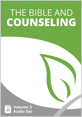The Bible and Counseling Volume 3 MP3 Set