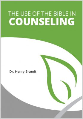 The Use of the Bible in Counseling