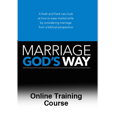 Marriage God's Way Online Course