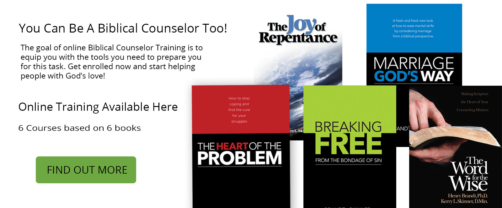 Online Biblical Counselor Training by Dr. Kerry Skinner