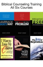 Biblical Counseling Training Courses